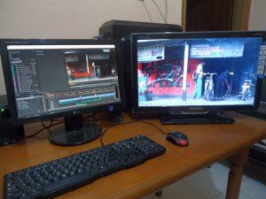 multi monitor di adobe premiere pro cc