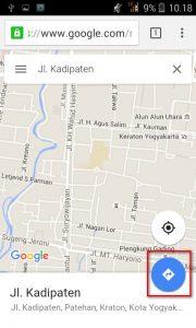 Berbagi Lokasi dengan Google Maps Android
