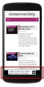 Mencoba Page-level Ads Google Adsense