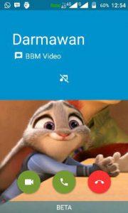 Cara Menggunakan Video Call BBM 4