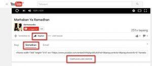 Embed Video Youtube Tanpa Menampilkan Video Lain Saat Selesai