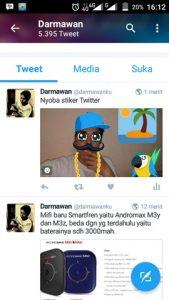 Cara menambahkan stiker di Twitter 5