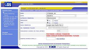 Membayar AdWord dengan Transfer Bank 5