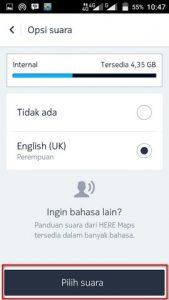 Mengubah Bahasa Navigasi Here Maps Android 2