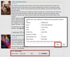 cara beli tiket bioskop xxi online lewat mtix 3