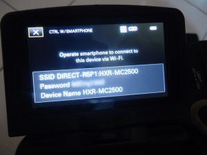 remote sony mc2500 dengan ponsel 3