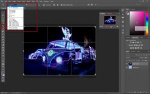 Cara Crop Foto dengan Aspect Ratio di Photoshop