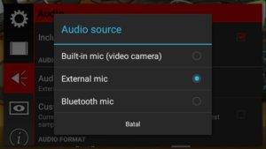 Rekam Video dengan Mic Eksternal di Ponsel Android