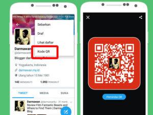 Follow Teman Dengan Mudah Melalui Twitter QRCode