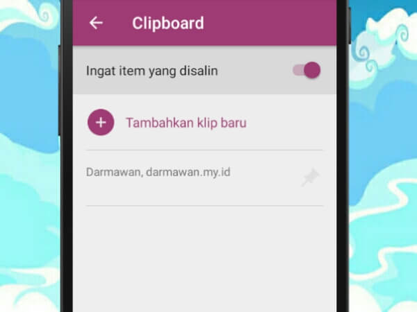 Membuat Auto Text di SwiftKey Keyboard