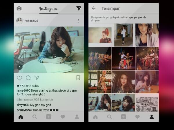 Cara Bookmark Foto di Instagram