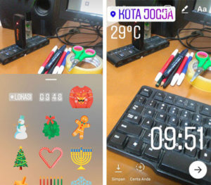 Instagram Menambah Fitur Stiker dan Hands Free