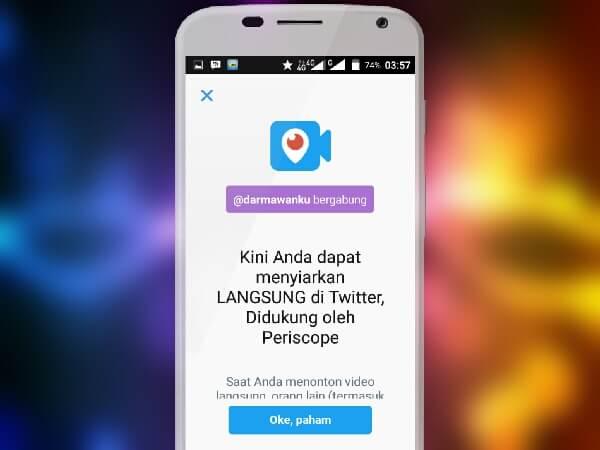 Siaran Langsung di Twitter Kini Lebih Simpel