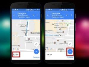 Ukur Jarak dengan Aplikasi Google Maps