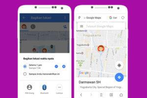 Berbagi Lokasi Secara Real Time Dengan Google Maps