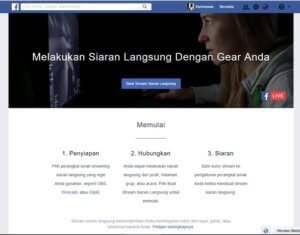 Cara Live Streaming Facebook Lewat Komputer