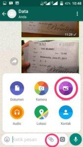 cara membuat animasi gif di Whatsapp