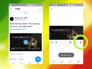 cara mudah download video Twitter di ponsel