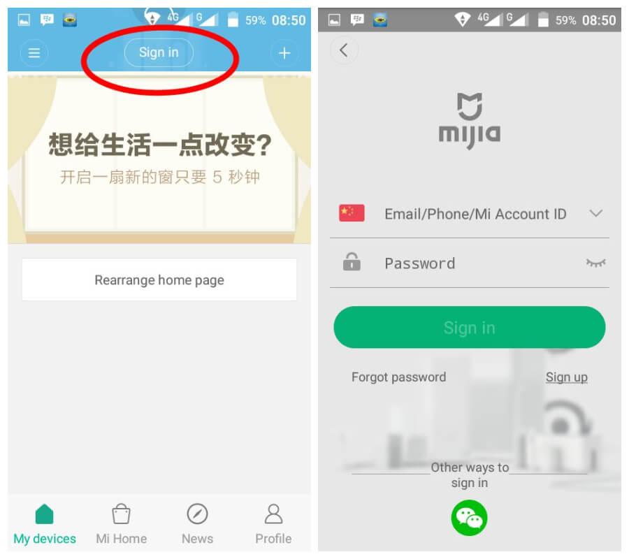 Cara Setting Xiaomi Xiao Fang | Darmawan Blog