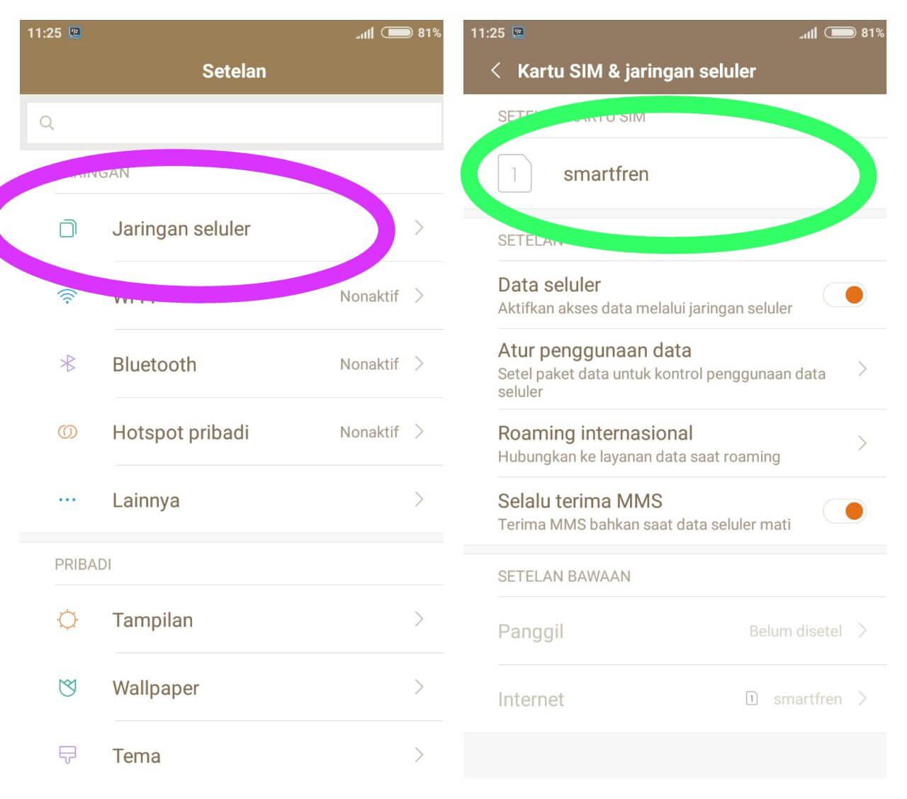 Menggunakan Smartfren 4g Di Xiaomi Redmi 4a Darmawan Blog