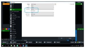 cara mengatasi video bergaris di vmix
