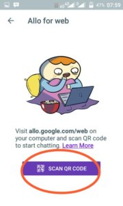 Google Allo Versi Web