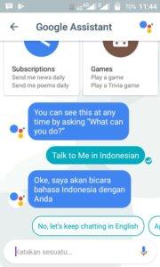 Mengubah Bahasa Google Assistant Menjadi Indonesia