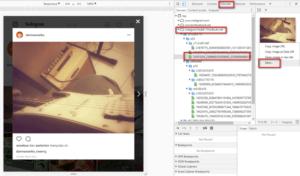 Download Foto Instagram di Chrome Desktop