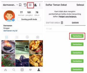 Posting Instagram Hanya Untuk Teman Dekat