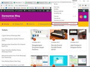 Cara Cepat Membuka Kembali Tab Browser Yang Tertutup