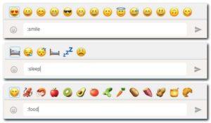 cari emoji dengan cepat di Whatsapp Web