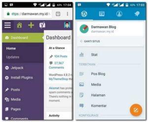 Nulis Blog di Ponsel Enak Pakai Aplikasi Atau Browser