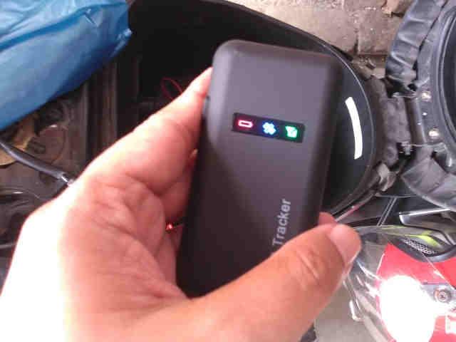 agar aki motor tidak tekor karena GPS tracker
