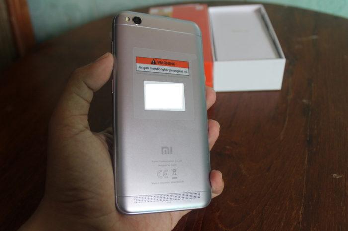 Unboxing Xiaomi Redmi 5A