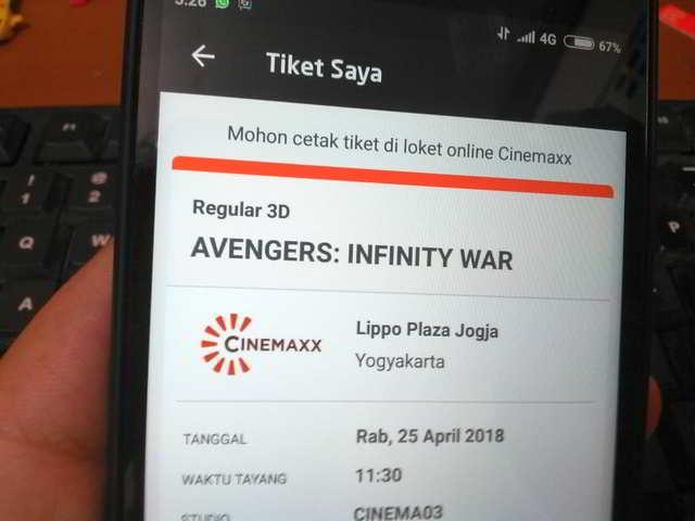 Beragam Cara Membeli Tiket Bioskop Secara Online