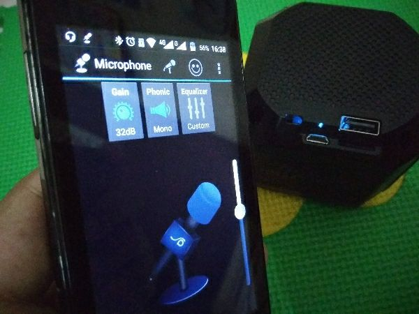 Pasang Mic di Speaker Bluetooth Portable