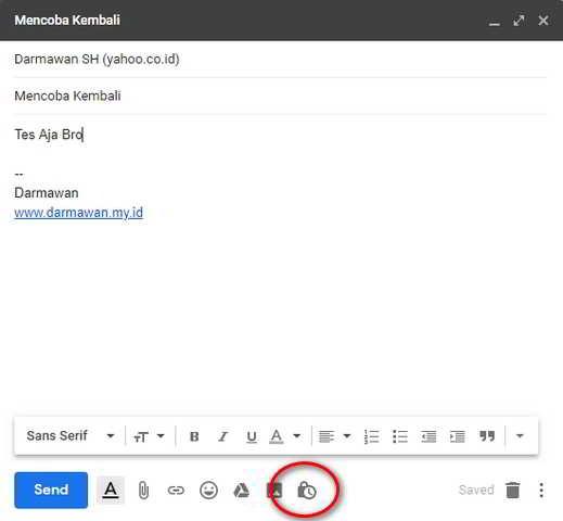 Mengirim Email Mode Rahasia di Gmail