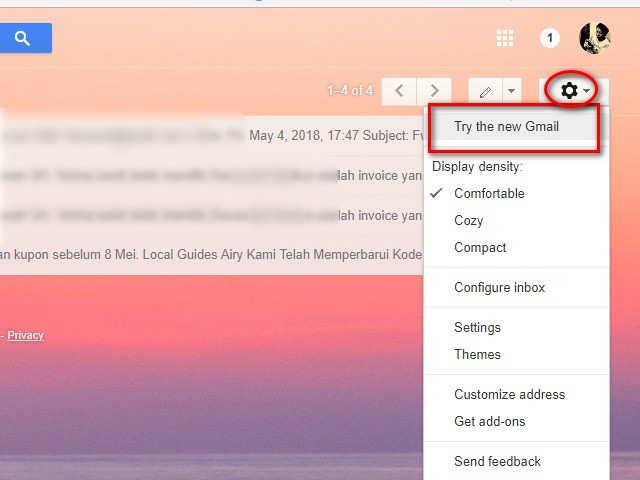 Menunda Email Gmail Yang Masuk