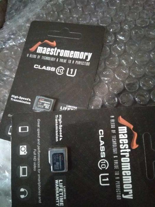Mencoba Micro Sdcard Maestro 32GB Seharga 50rb
