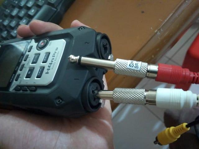 Rekam Audio dari Mixer Dengan Zoom H4n