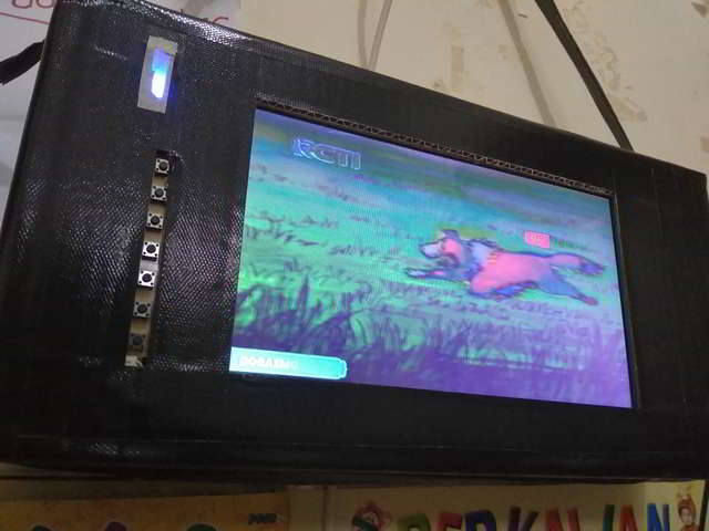 Membuat Layar Laptop Bekas Menjadi TV