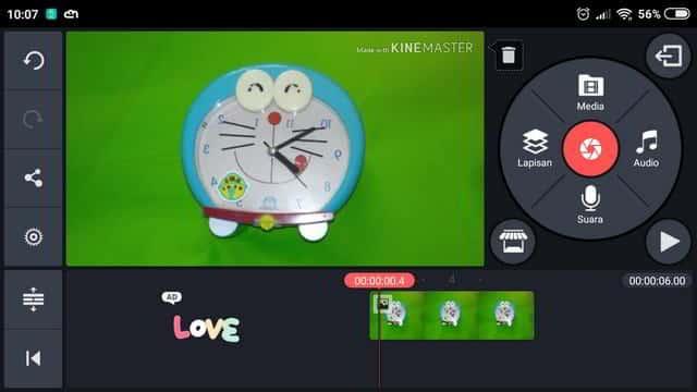 Kain Untuk Green Screen Sederhana