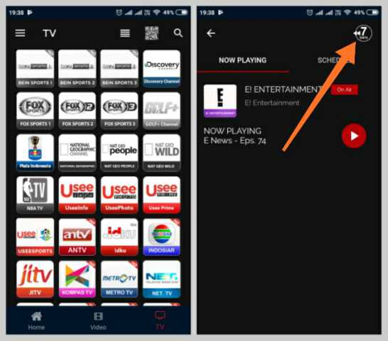 Replay Tayangan Tv Lokal di ponsel