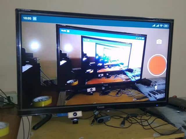 Agar Cast Kamera ke TV Bisa Landscape