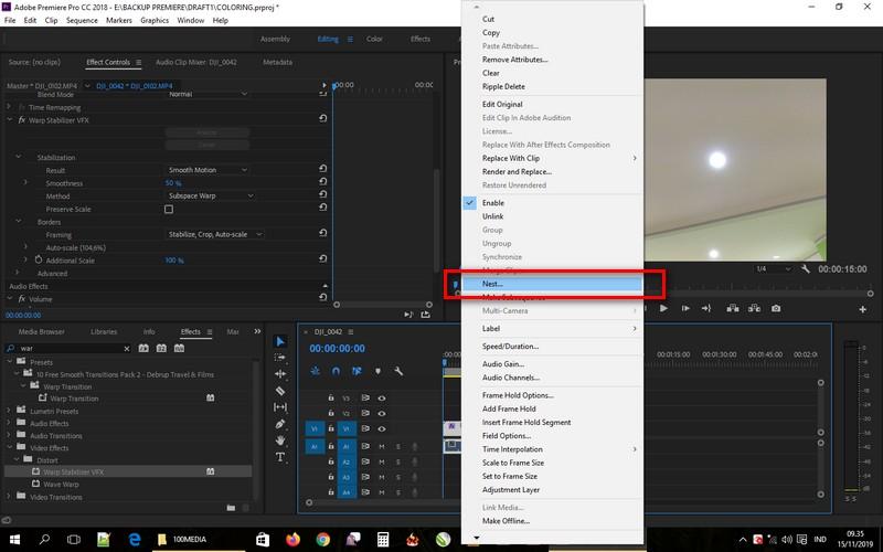 Mengatasi Masalah Warp Stabilizer di Adobe Premiere