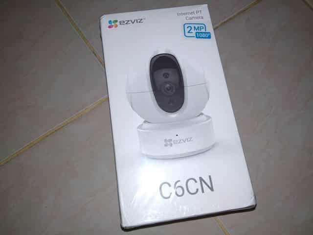 Unboxing CCTV EZVIZ C6CN 1080P