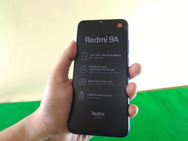 Unboxing Redmi 9A Rp 999 Ribu