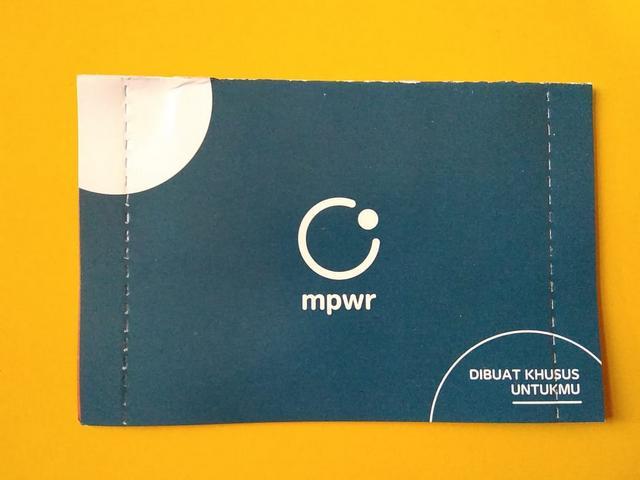 Mencoba Perdana MPWR dari Indosat